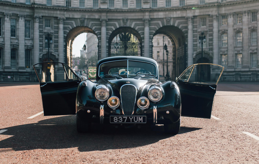 1953 Jaguar XK120 EV conversion by Lunaz