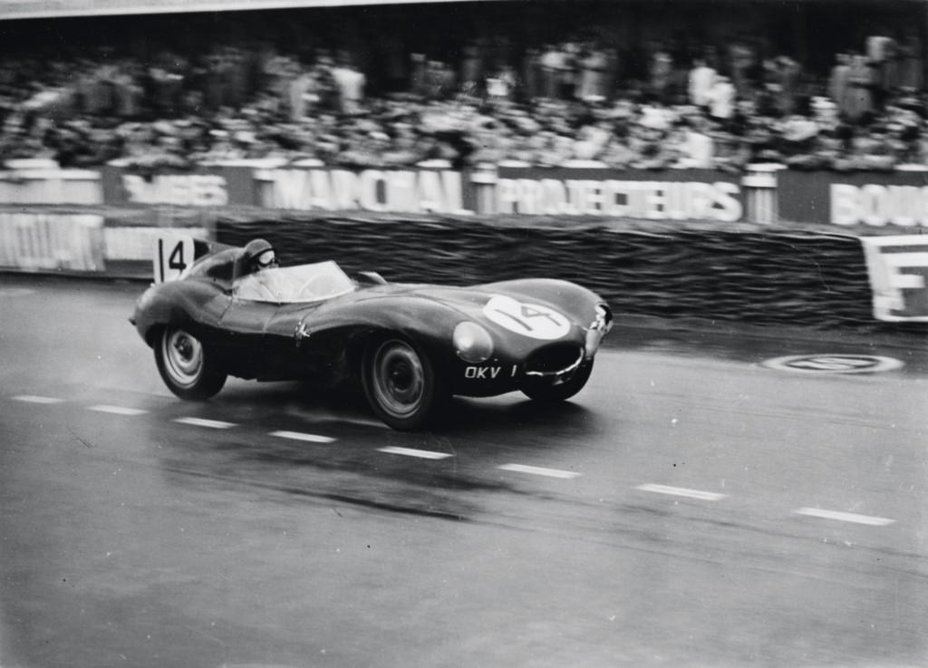 Image 1954 Jaguar D Type At Le Mans Size 1024 X 737