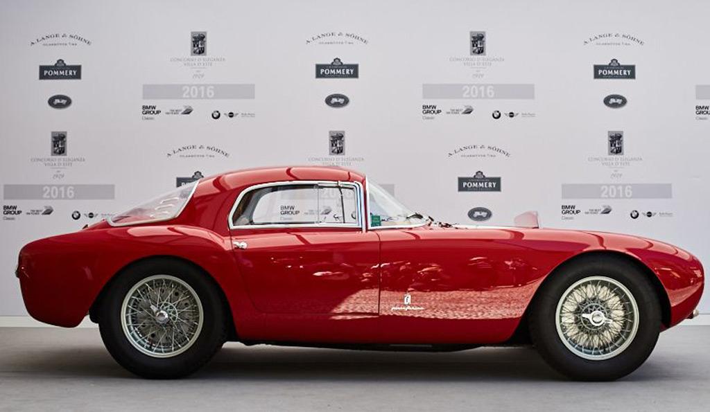 1954 Maserati A6 Gcs Named Best In Show At 2016 Concorso D Eleganza Villa D Este