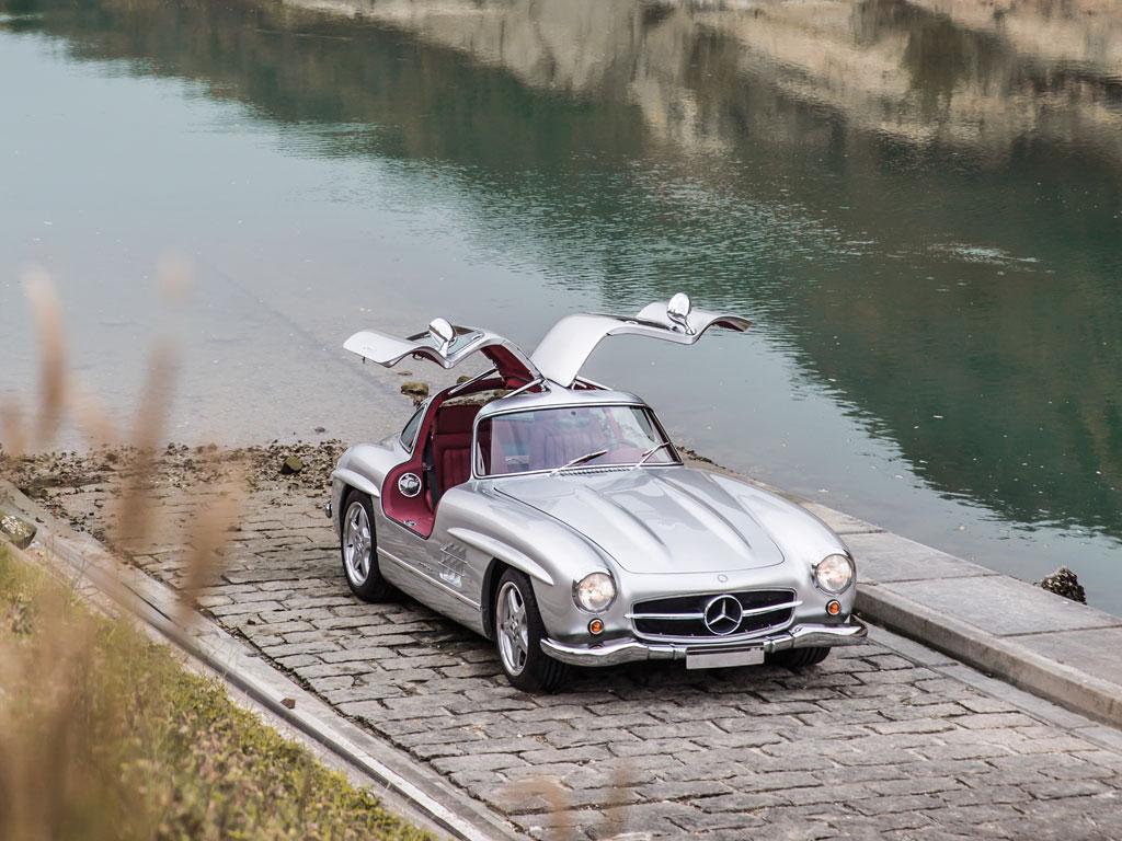 1954 Mercedes-Benz 300SL AMG - Image via RM Auctions