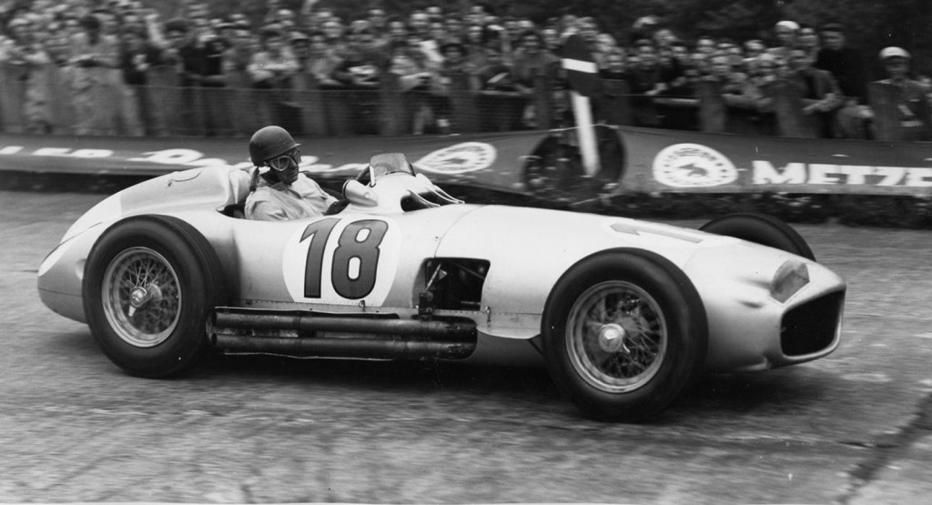 1954 Mercedes-Benz W196 driven by Juan Manuel Fangio