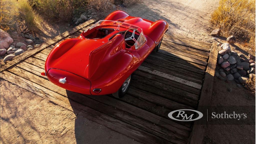 1955 Jaguar D-Type XKD 518 (Photo by RM Sotheby's)
