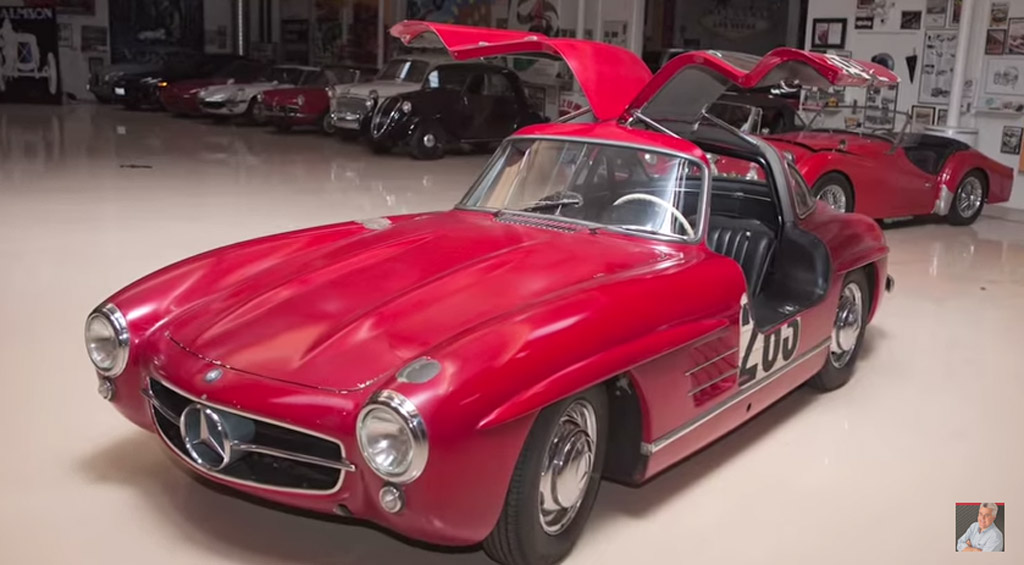 Jay Leno Shows Off Mercedes Benz 300sl Just Oozing With
