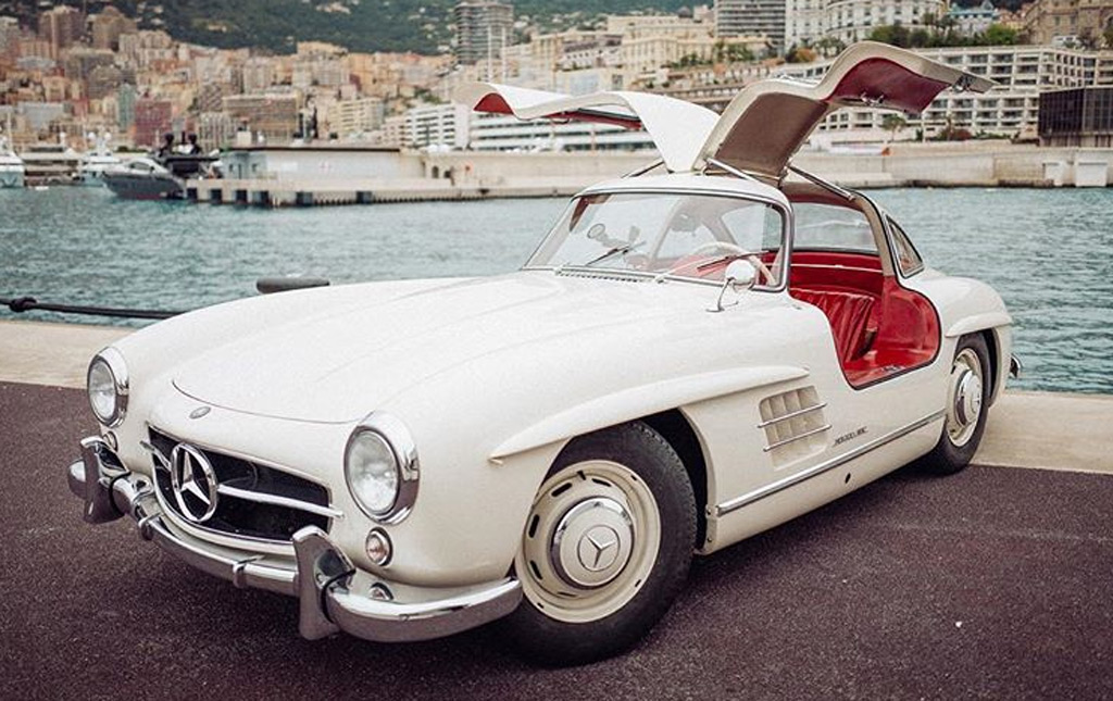 nico rosberg takes us for a spin in monaco in his mercedes-benz 300sl