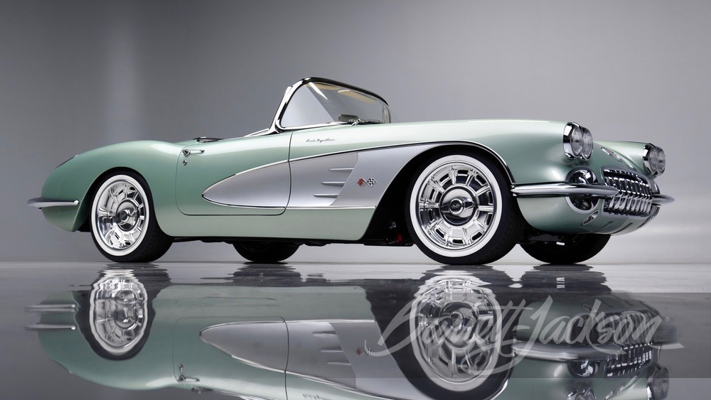 Kevin Hart paid $825,000 for this 1959 Chevrolet Corvette convertible restomod