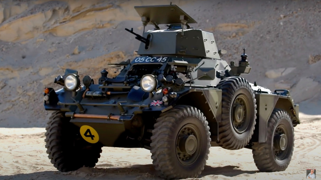 1959 Daimler Ferret Mk2 armored scout car on Jay Leno's Garage