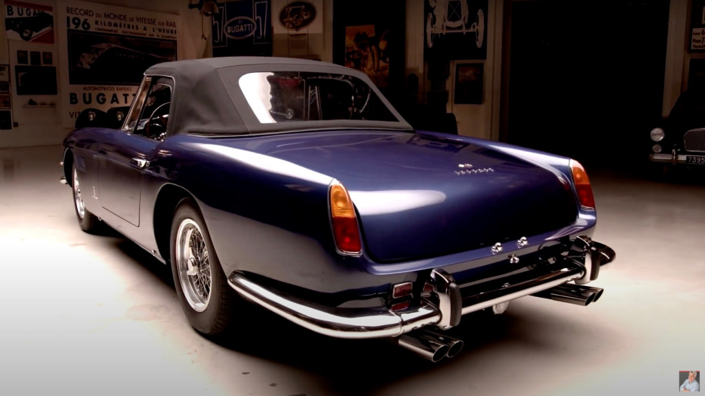 1960 Ferrari 250 PF Cabriolet brings classic style to Jay Leno's Garage