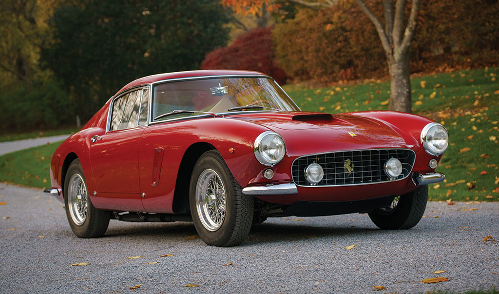1961 Ferrari 250 GT SWB Berlinetta that failed to sell during 2017 Amelia Island Concours auction
