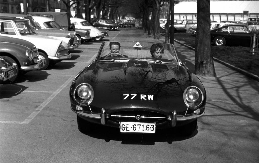 1961 Jaguar E-Type registered 77 RW