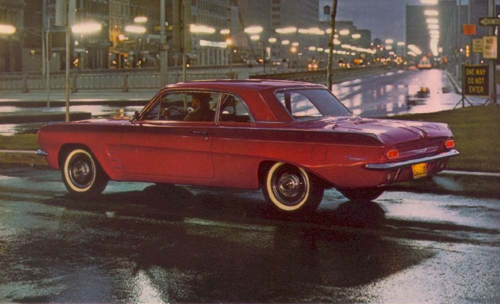 Guilty Pleasure 1961 63 Pontiac Tempest With Trophy 4 Engine