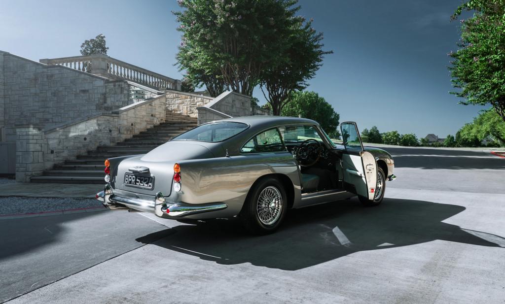 1963 Aston Martin DB5 bearing chassis no. 1348/R - Photo credit: Bring a Trailer