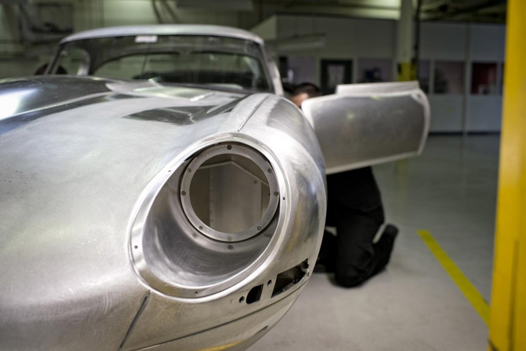 1963 Jaguar Lightweight E-Type recreation