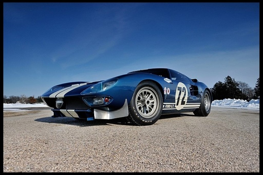 Detroit Auto Auction >> 1964 Ford GT40 Prototype, Other Rare Cars Hit Mecum Auction