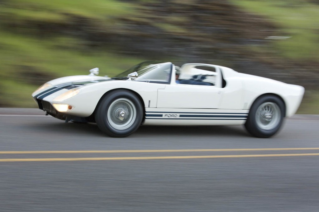 Ford's first GT40 Roadster likely to bring big bucks at auction