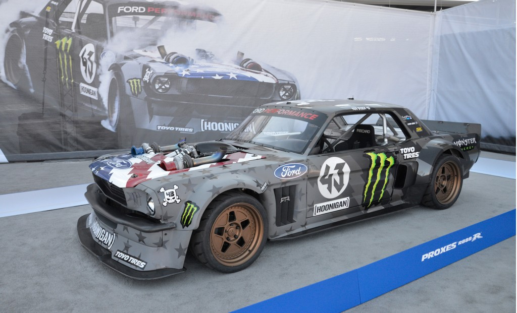 image 1965 ford mustang hoonicorn rtr twin turbo 2016 sema show size 1024 x 621 type gif. Black Bedroom Furniture Sets. Home Design Ideas