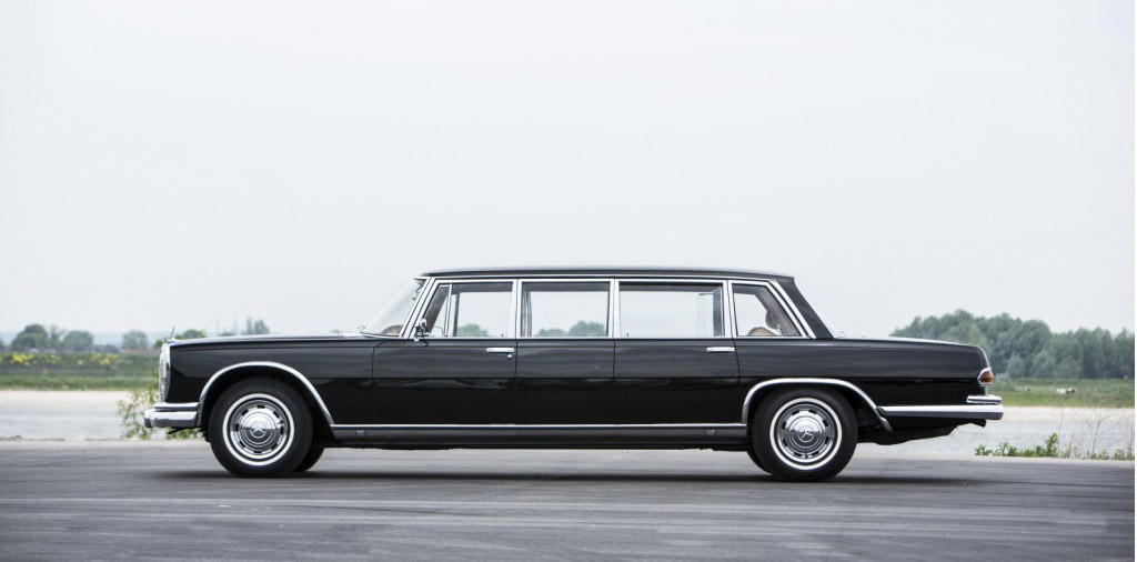 1965 mercedes benz 600 pullman going up for auction. Black Bedroom Furniture Sets. Home Design Ideas