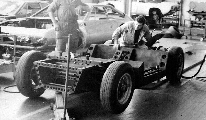 Original 1965 Turin Salon Lamborghini Miura Chassis Found
