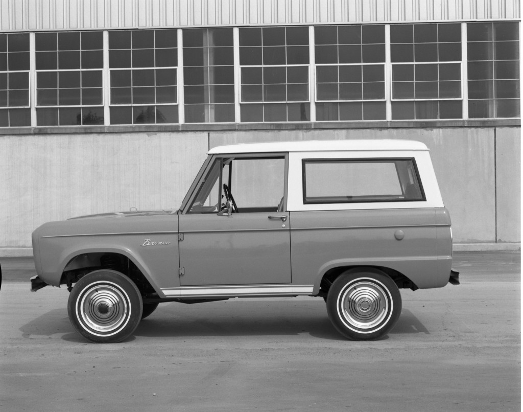1966 Ford Bronco wagon