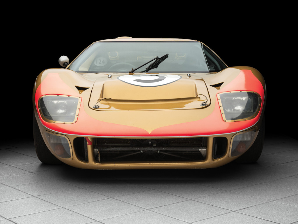1966 Ford GT40 that placed 3rd at Le Mans heads to auction