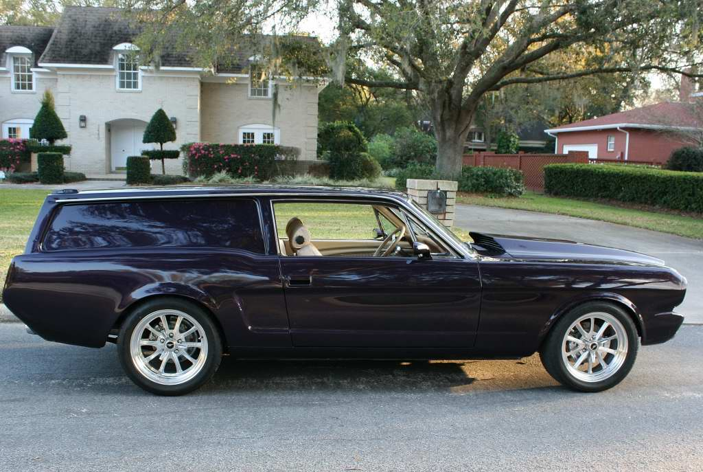 Image: 1966 Ford Mustang paired with Volvo 240DL wagon for ...