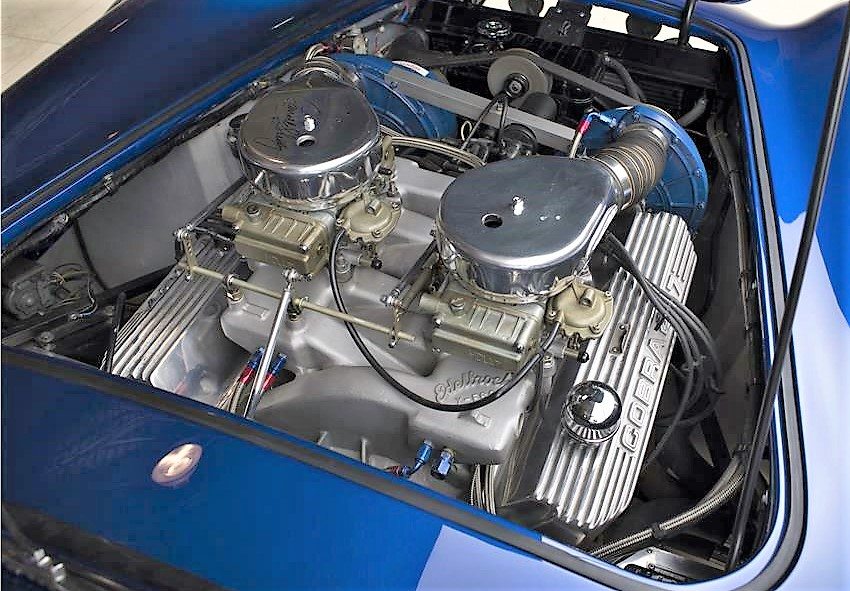 1966 Shelby Cobra 427 Super Snake built for personal use by Carroll Shelby