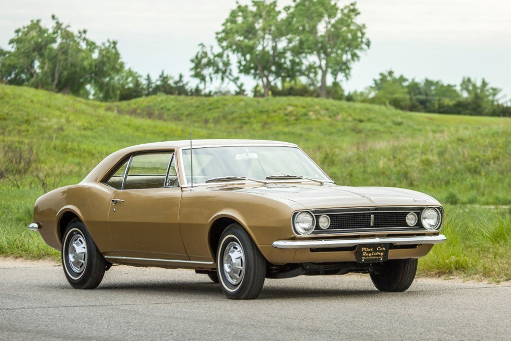 7 things you probably didn't know about the 1st Camaro