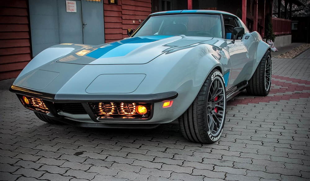 This C3 Chevrolet Corvette restomod is actually a C6
