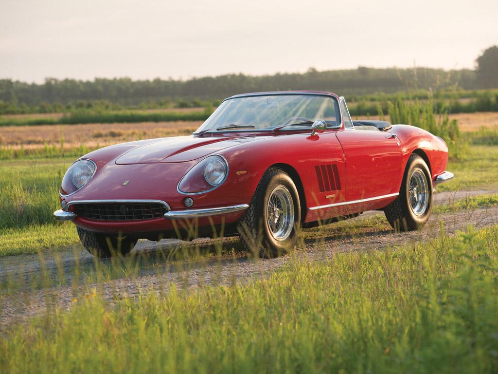 1967 Ferrari 275 Gtb Nart Spider Sets Record At Pebble Beach Auction