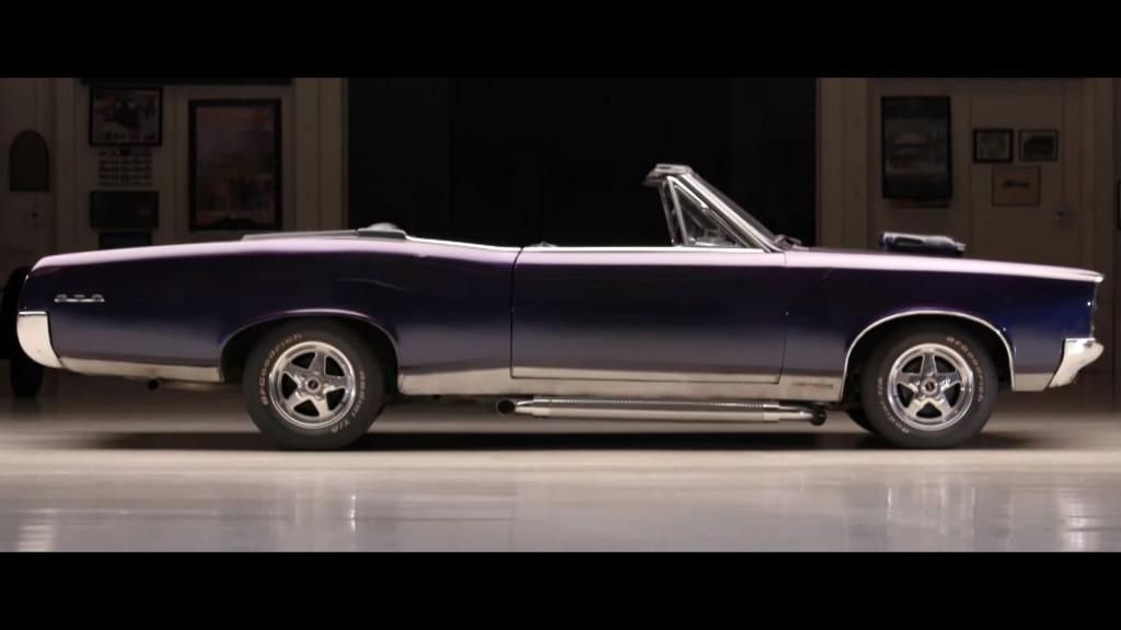 """xXx"" Pontiac GTO visits Jay Leno's Garage"