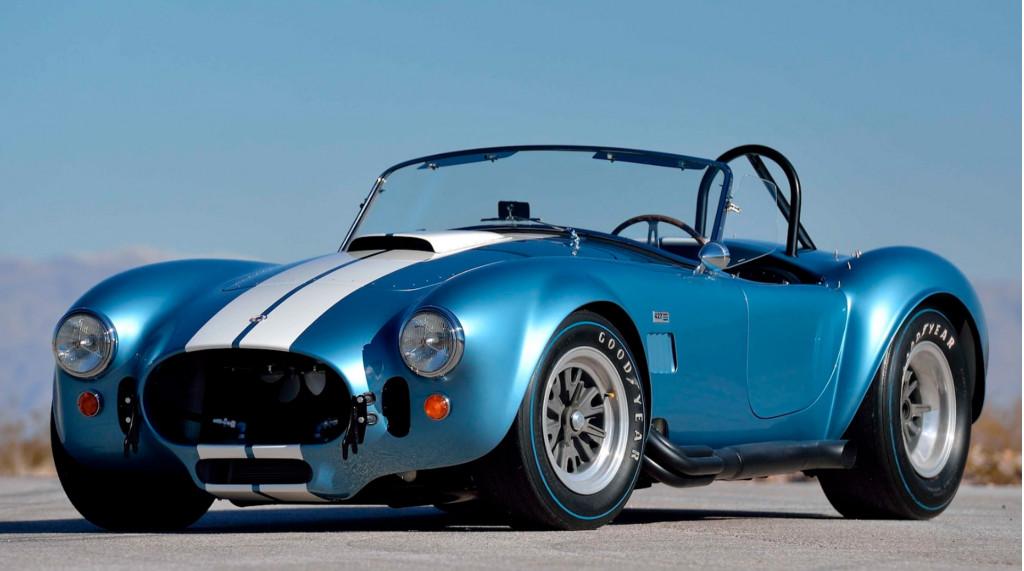 Original Shelby Cobras, including a 427 S/C Roadster, fetch big bucks at auction