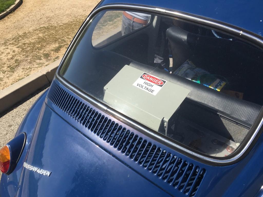 image  volkswagen beetle ebug electric car conversion owned  richard hugo photo
