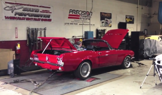 1968 Ford Mustang Gets A 443 Whp Turbo 2jz Swap Video