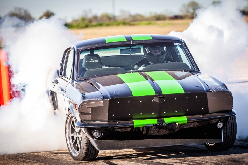 Ford Mustang Electric Drag Car Does  Mph Under  Seconds Targets  Mph