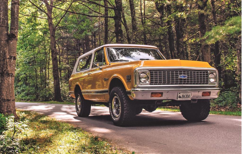 1969-72 Chevrolet Blazer
