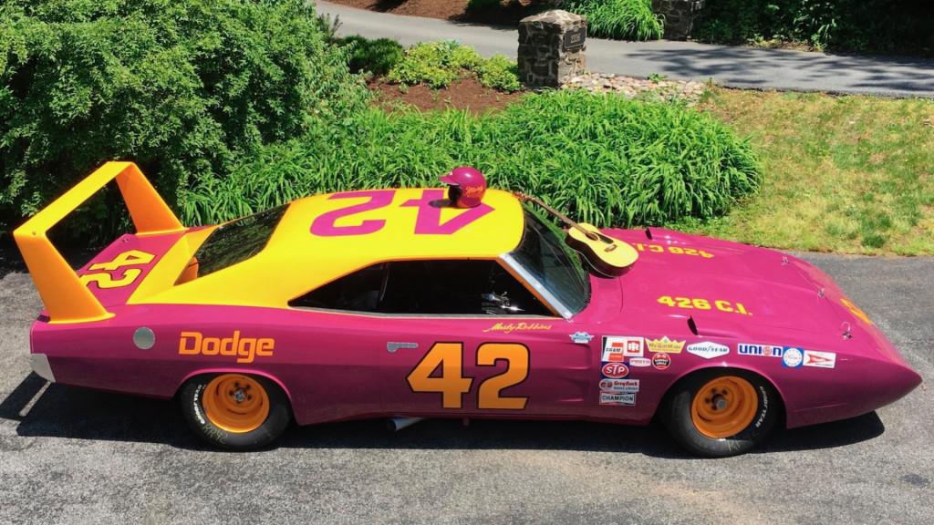 1969 Dodge Charger Daytona NASCAR (Photo by Mecum Auctions)