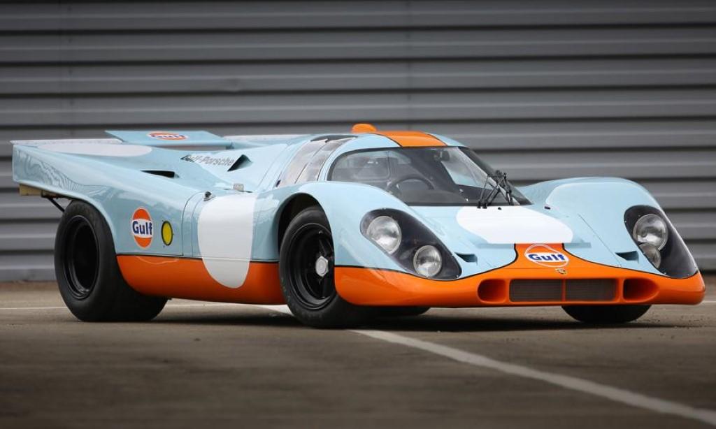 Steve McQueen\'s \'Le Mans\' movie Porsche 917 up for sale