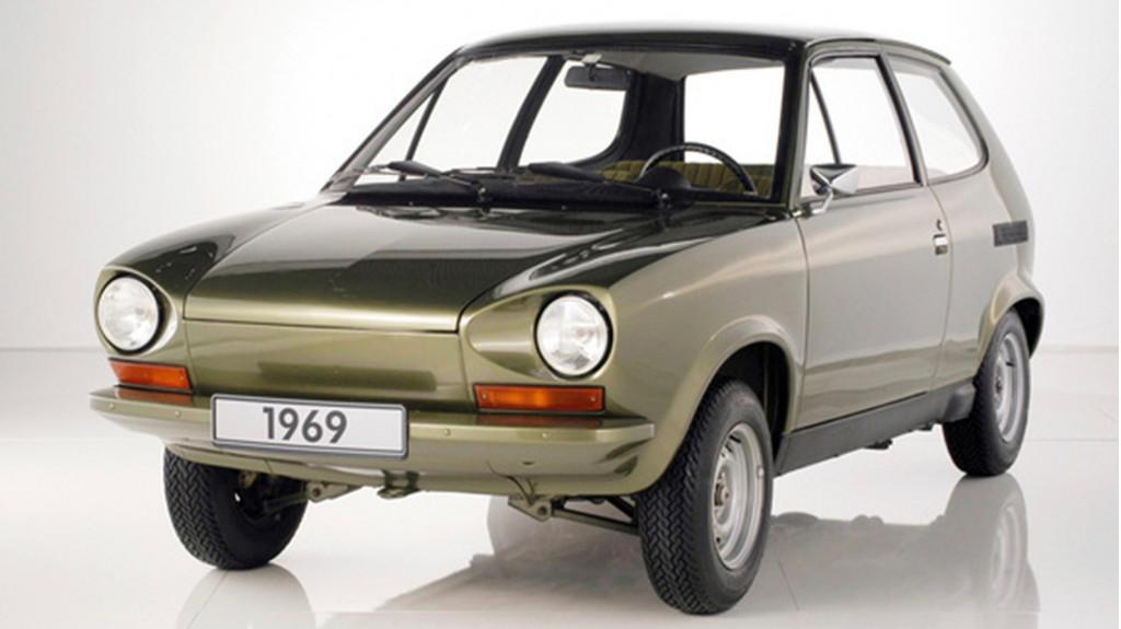 1969 Volkswagen EA266 prototype