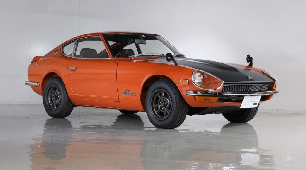 Race-ready 1970 Nissan Z brings nearly $804,000 at Tokyo auction