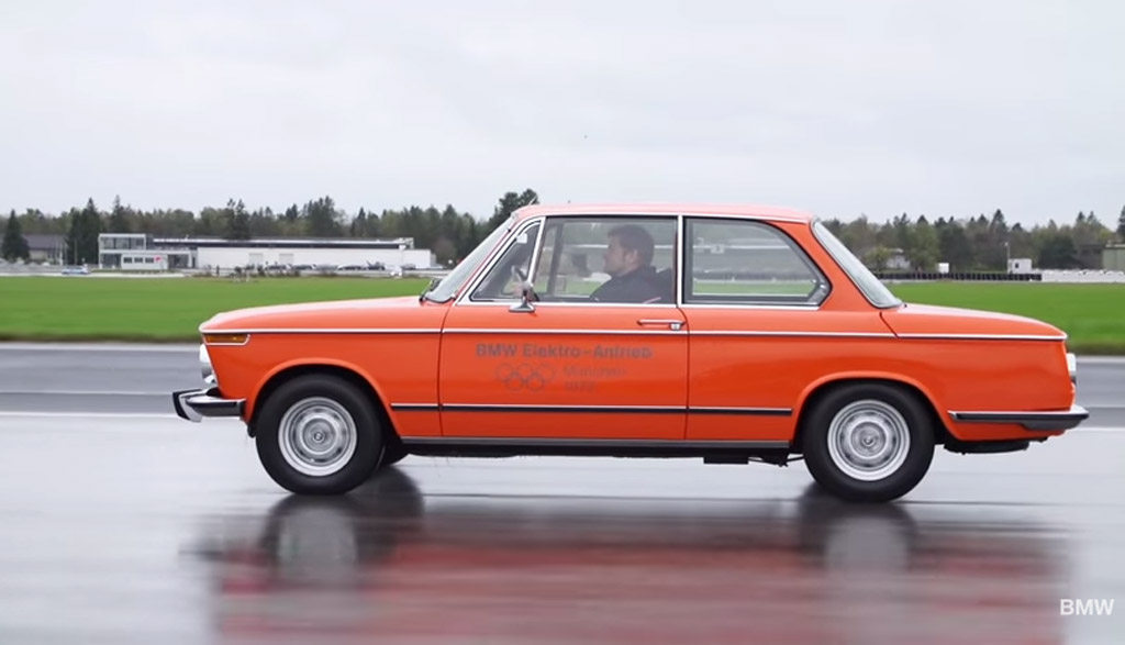 1972 Bmw 1602e Bmw S First Electric Car Detailed In New Video