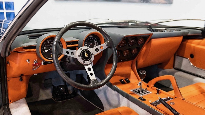 1972 Lamborghini Miura SV for sale at Joe Macari, London