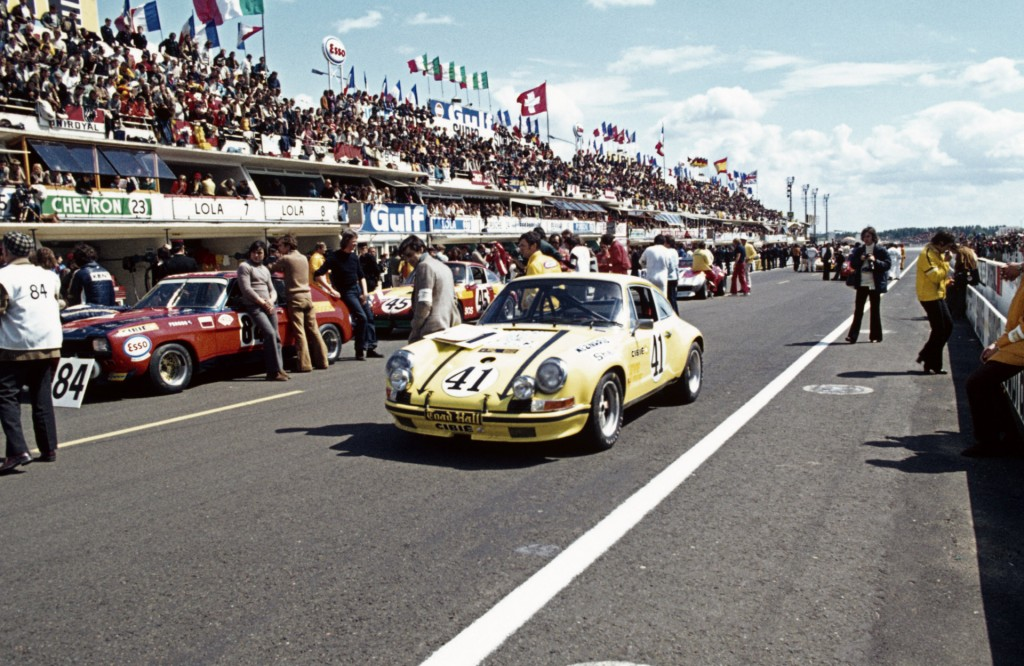1972 Porsche 911 2.5 S/T at the 24 Hours of Le Mans