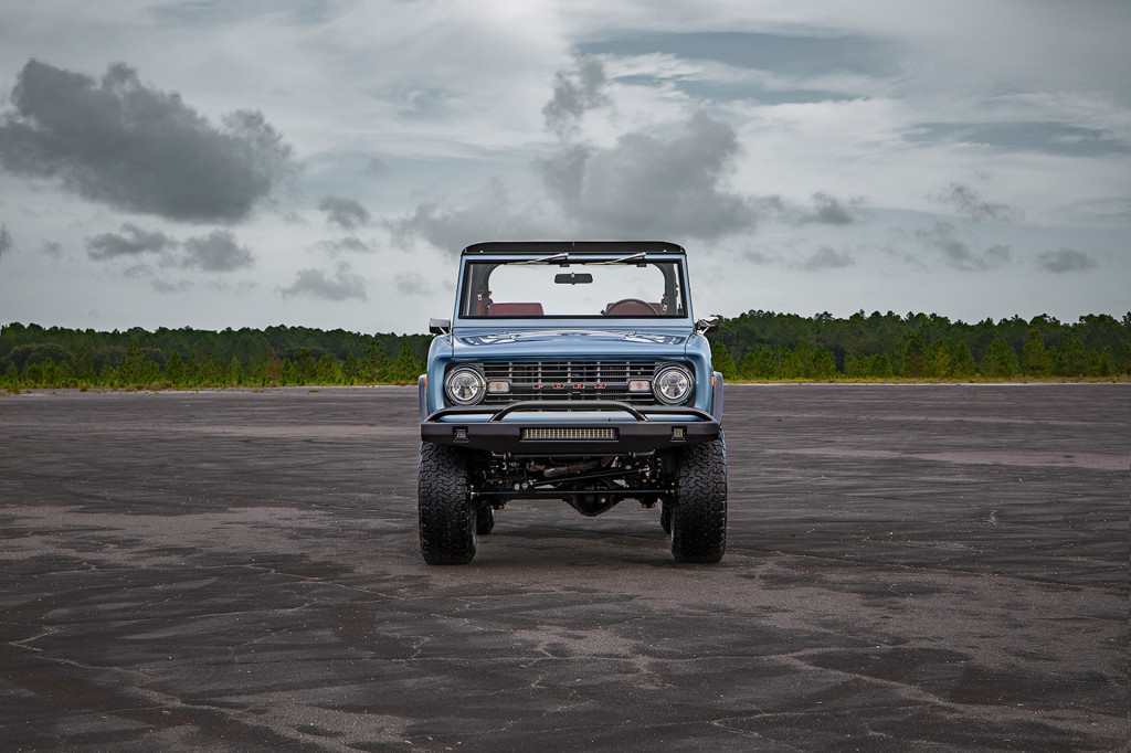 Here's a 1973 Ford Bronco after a 1,500-hour restoration