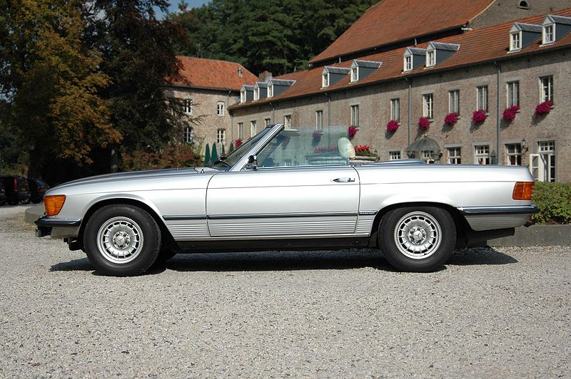 1973 1980 mercedes 450sl not quite classics. Black Bedroom Furniture Sets. Home Design Ideas