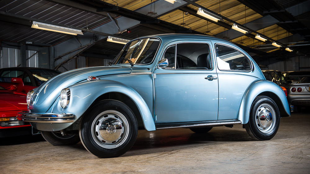 """""""New"""" 1974 VW Beetle sells for $43,000 at auction"""