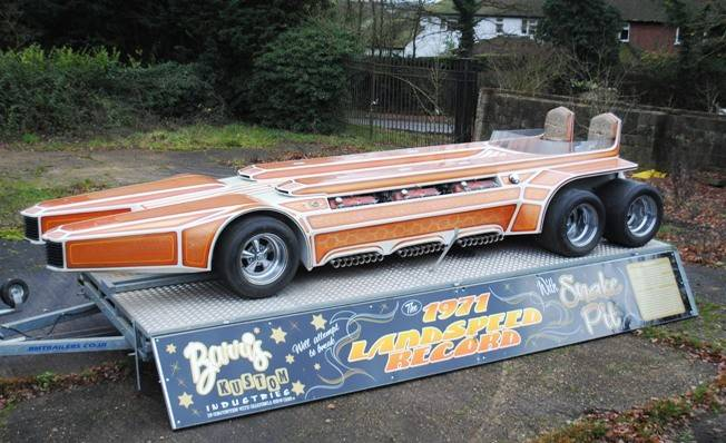 1975 George Barris SnakePit with six Ford V-8s surfaces for sale