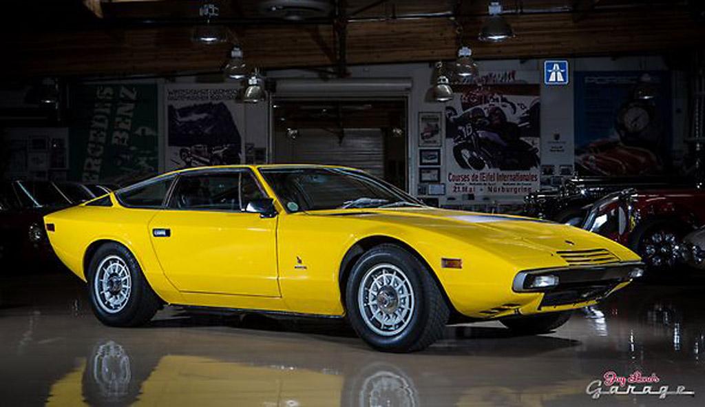 Jay Leno Drives A 1975 Maserati Khamsin Video