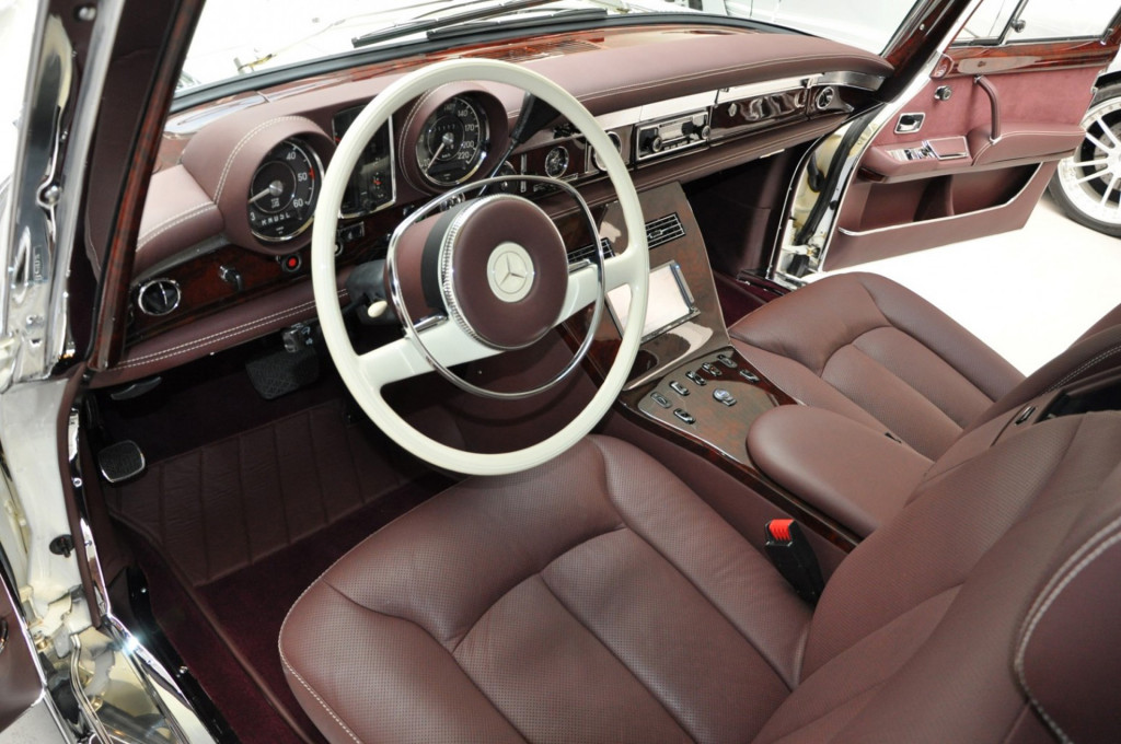 1975 Mercedes-Benz 600 Pullman Maybach restomod - Photo credit: Auto Leitner