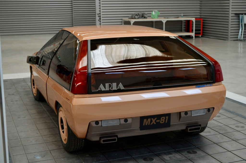 1981 Mazda MX-81 concept car undergoes restoration at SuperStile in Turin