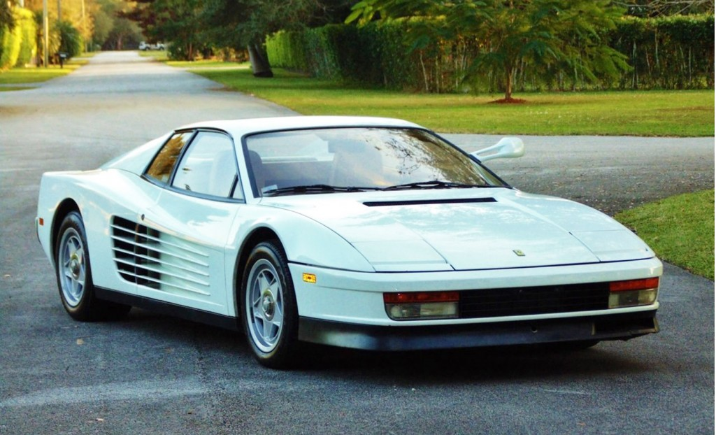 Ferrari Testarossa From \'Miami Vice\' Found On eBay
