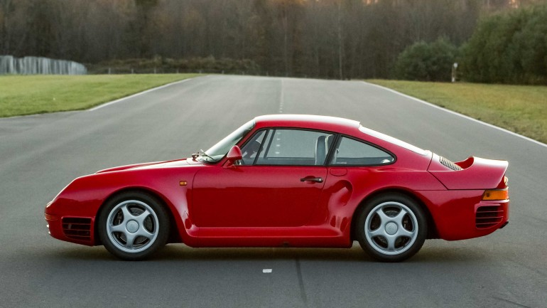 Pristine Porsche 959 Headed To Auction In Monterey